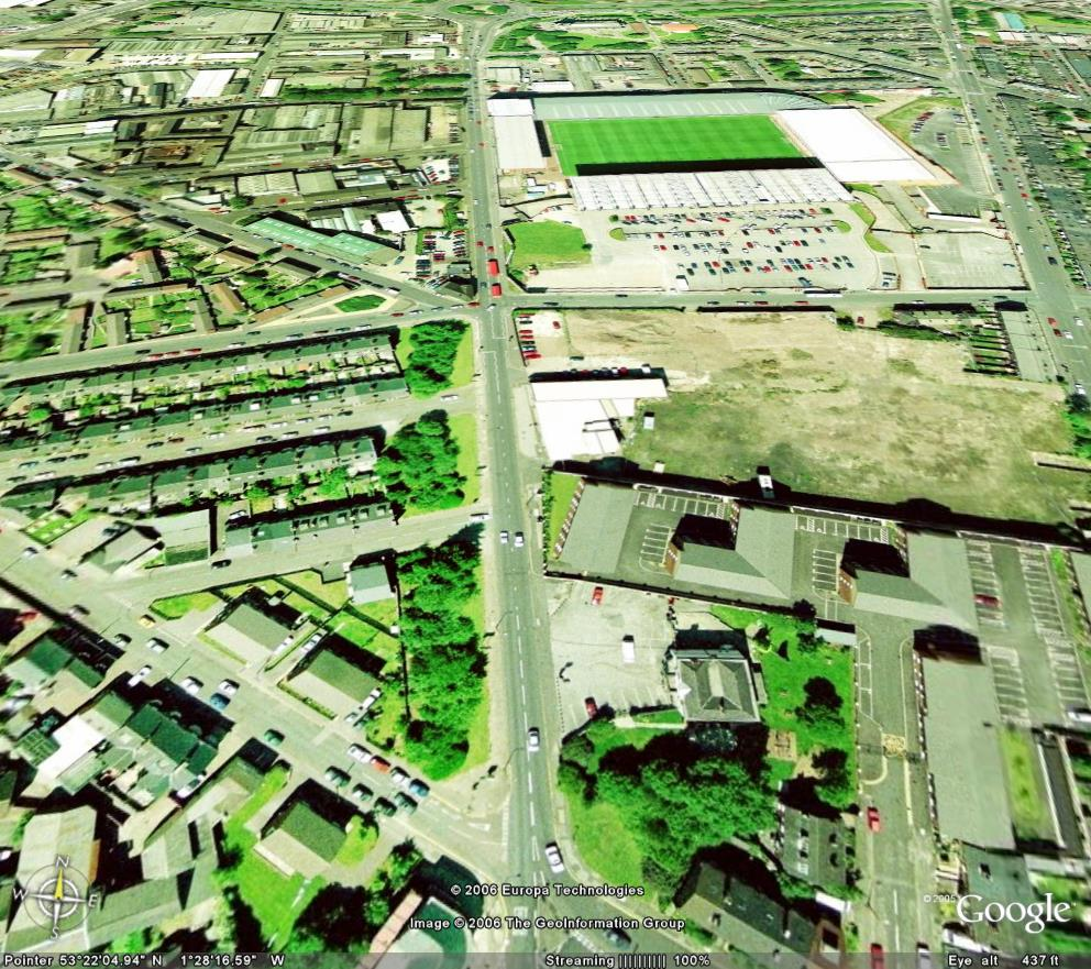 Bramall Lane 1970 Bramall Lane Was Until The Mid